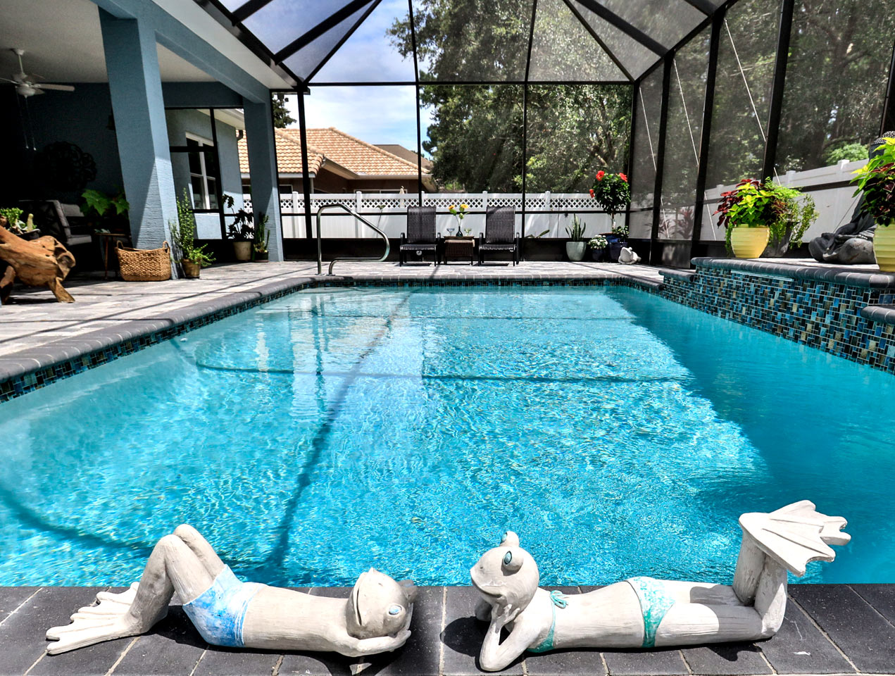 Pool Construction in Palm Coast, FL   Amaral Homes and Pools
