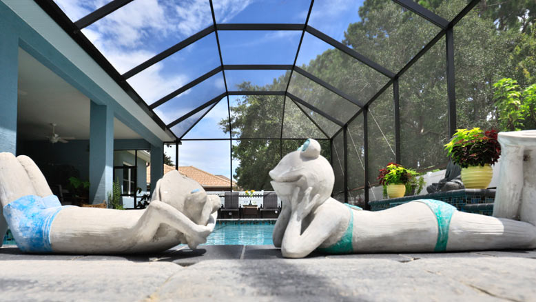 Custom Pool Construction in Palm Coast   Amaral Homes and Pools